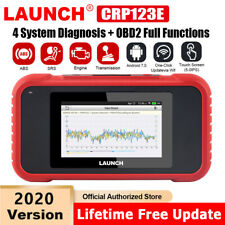 LAUNCH OBD2 Scanner ABS SRS Code Reader Check Engine Light Diagnostic Scan Tool
