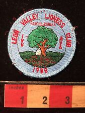 AVA Patch Leon Valley Lioness Club Hiker Walker ~ Texas 69Y2