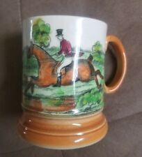 VINTAGE Mug Stein Arthur Wood Ye Olde Coaching & Hunting Days England Tankard