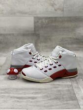 2002 OG Nike Air Jordan Retro XVII 17 302720-161 Size 12 White Red Chicago Bulls
