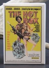 The Hot Box Movie Poster - Fridge / Locker Magnet.  Joe Viola Andrea Cagan GGA
