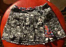 InknBurn Run Or Die Skirt Size 4 Euc