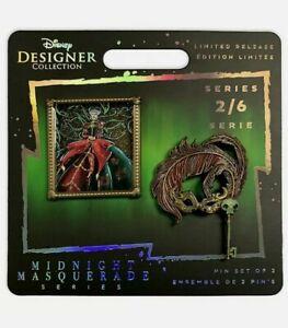 Disney Lady Tremaine Designer Collection Midnight Masquerade Pin Set Cinderella