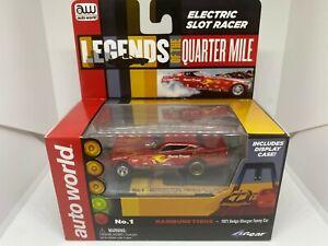 Auto World - Rambunctious 1971 Dodge Charger Funny Car - HO Slot Car