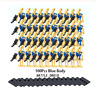 Hot Free shipping 100 Pcs MIXTURE Battle Droid Blue Figures - STAR WARS Lego MOC