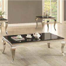 Coaster Abildgaard Contemporary Black Coffee Table 705018