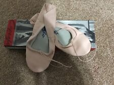 Girl's Capezio Teknik Leather Ballet Dance Shoes Pink Many Sizes New!