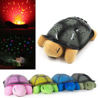 Turtle Night Star Moon Sky Starry Projector LED Light Lamp Kids Baby Bedroom New