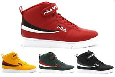 NEW MEN FILA VULC 13 REPEAT LOGO RED YELLOW GREEN BLACK WHITE LACE UP SNEAKERS