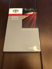 2018 TOYOTA RAV4 FACTORY OWNERS MANUAL IN FRENCH GENUINE OEM