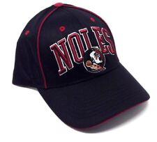 Fsu Florida State Seminoles Adjustable Cap Noles Logo Hat