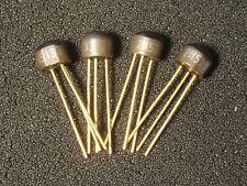 "Qty 4: Vintage 2N5133 Transistor Gold Leads Xlnt NOS ""Original"" in Big Muff FuzZ"