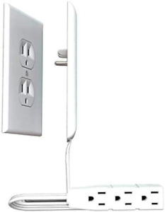 Electrical Switch Plates Outlet Covers Sleek Socket Ultra Thin Power Strip 125V