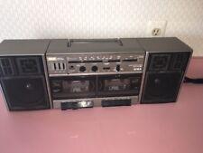 Aiwa CA-W35U Portable Stereo Boombox Ghetto Blaster Vintage Radio Works