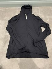 Lululemon Surge Running Gym Top Jacket Full Zip Hoodie Black Size L Large