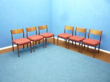 Teak Dining Chairs Stühle von Lübke 1960s