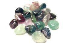 Bulk Tumbled Fluorite Stones, 1/2 lb Wholesale Lot Zentron™ Crystals