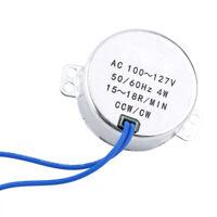 1Pc Synchronous Motor AC110-127V 50/60Hz CW/CCW 4W Electric Motor