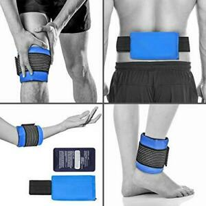 Tanness Gel Ice Pack for Sport Injury, Reusable Hot & Cold Compress Wrap, All Bo