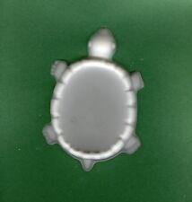 Turtle soup dish plaster of Paris painting project. Set of 1!