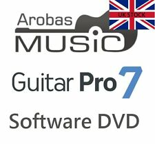Arobas Music Guitar Pro 7 Tab Tablature Editing Software Boxed Version UK