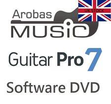 Arobas MUSIC GUITAR PRO 7 TAB software di editing tablature in scatola versione UK Bass