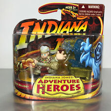 Indiana Jones Adventure Heroes RENE BELLOQ & ARK w/GHOST 2-Pack