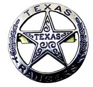 Sheriffstern Texasranger-Stern nickel 1823 Stephen Austin Texas