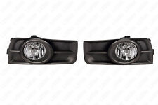 For 11-14 Chevrolet Cruze Clear Lens Fog Light Assembly w/Switch w/Bulbs w/Bezel