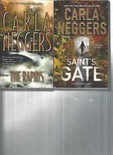 CARLA NEGGERS - THE RAPIDS - A LOT OF 2 BOOKS