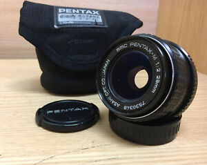 Near Mint SMC Pentax M 28mm F/2.0 Wide Angle MF Lens K PK Mount From JP