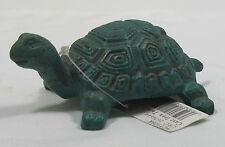 Emily's Garden Cast Iron Turtle Paper Weight Outdoor Garden Decor 9CY108K New