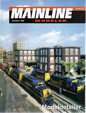 Mainline Modeler Nov.98 Snow Blower Hopper Canaseraga Depot Magnetic Coupler PS3
