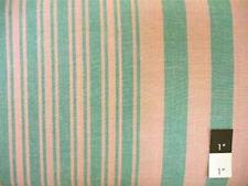 Kaffe Fassett Woven 2 Tone Stripe Green Fabric By Yard
