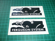 The Ferguson System Stickers - Tractor