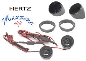 HERTZ Tw Par Tweeter 34mm 150W Coche Neodimio Condensadores De Set K 165 Coche