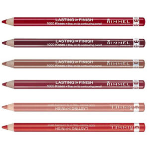 RIMMEL LASTING FINISH 1000 KISSES LIP LINER PENCIL CONTOUR  ** SELECT SHADE **