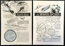 Skip Jacks / Streamlined Sled / Motorized Ice Scooter 1936 HowTo Build PLANS
