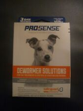 Pro-Sense Dewormer Solutions Medicine for 10lb Dogs, Safe Guard 3 Day Treatments