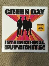 Green Day International Superhits! Vinyl LP Sealed New Orange Colored Hot Topic