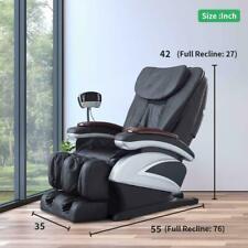 New Electric Full Body Shiatsu Massage Chair Recliner Heat Stretched Foot Rest