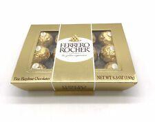 Ferrero Rocher Fine Hazelnut Chocolates 5.3 oz - 12 pieces-FREE SHIPPING
