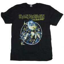 Iron Maiden T Shirt - Live After Death Retro Print 100% Officially Licensed