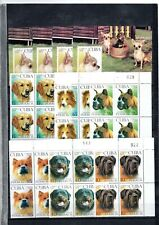 "2008 - Block of 4  + 4 Sheets*  "" PERROS, DOGS, FAUNA""  MINT"