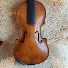 Sehr Schöne, interessante Alte Geige, 4/4. Lovely Old Interesting Violin.