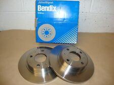Bendix 561461B Fits Nissan Sunny 1.3/1.4/1.6 1986-1991 Front Brake Discs (Pair)