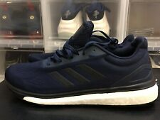 93e2e7984097 Adidas BOOST Response It Running Shoes Size 12 CP9551 Navy Black White