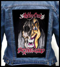 MOTLEY CRUE - Dr Feelgood   --- Giant Backpatch Back Patch