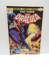 Tomb Of Dracula Marvel Comic Book #27 Vampire Marv Wolfman Gene Colan Art