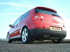 "Milltek Golf GTI MK5 Turbo Nuevo Sistema de escape 2.75"" non-res Inc de Cat Bajante"